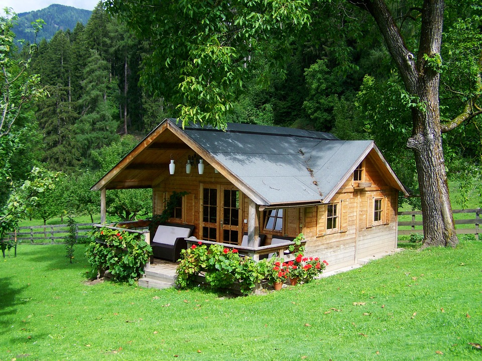 Maison en bois kit